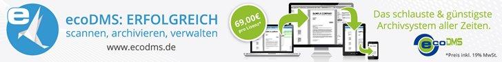 ecoDMS - volle Funktionalität für wenig Geld