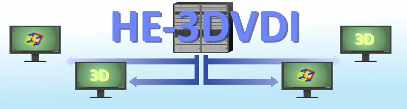 HE-3DVDI - 3D Virtual Desktop Infrastructure