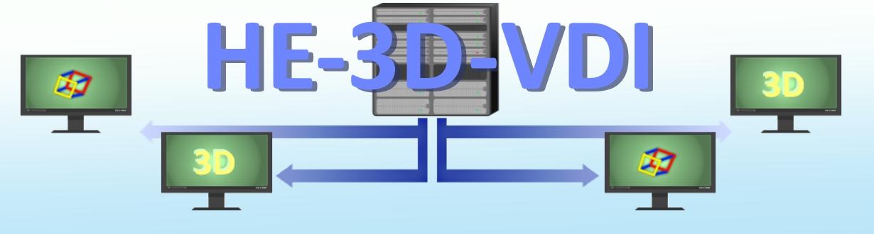 HE-3DVDI Virtualisieren Sie Ihre Arbeitsplätze mit 3D Virtual Desktop