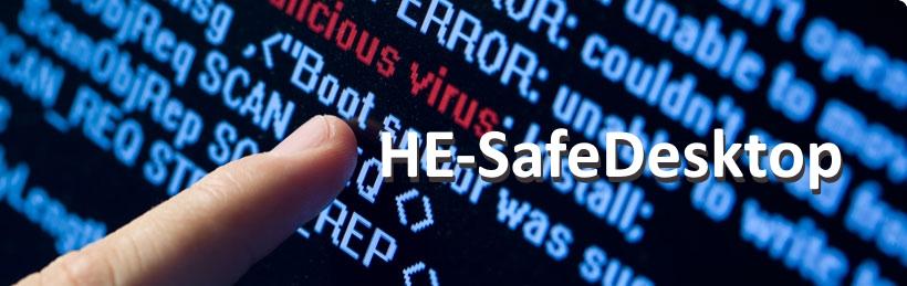 HE-SafeDesktop - Legen Sie die Wartung Ihres Desktop-PC in unsere Hände.