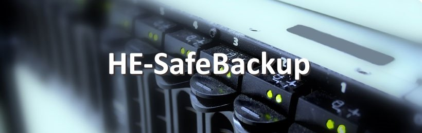 HE-SafeBackup - Datensicherung der Server, PCs oder Notebooks