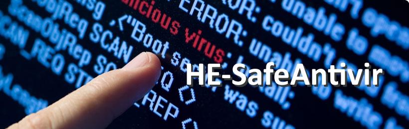 HE-SafeAntivir perfekte Mischung aus maximaler Erkennung und Performance
