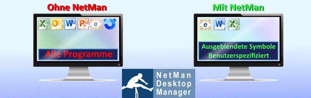 NetMan Desktop Manager für Unternehmen
