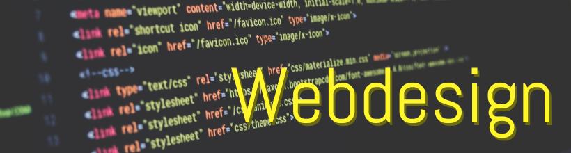 Präsenz mit der eigenen Webseite